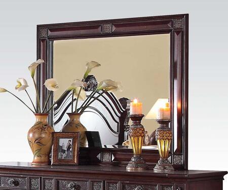 Acme Furniture 20504 Vevila Series Rectangular Portrait Dresser Mirror