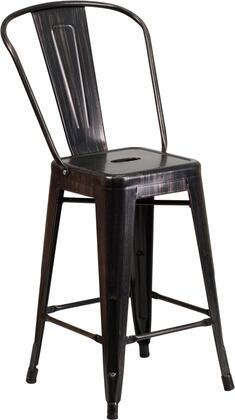 Flash Furniture CH3132024GBBQGG Residential Not Upholstered Bar Stool