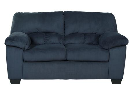 Loveseat in Midnight Blue