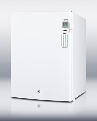 "Summit FF28LMED Freestanding All Refrigerator Yes 2.5 cu. ft.  18.5"" Compact Refrigerator 