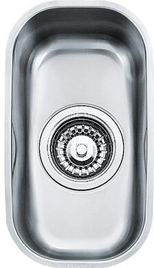 Franke ARX11 Artisan Series Undermount Single Bowl Sink in Stainless Steel