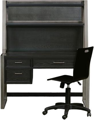 Samuel Lawrence 8942414DHC Graphite Desks and Hutches