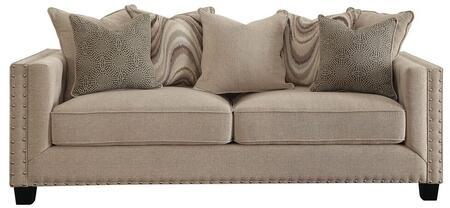 Coaster 505451 Lyonesse Series Stationary Fabric Sofa