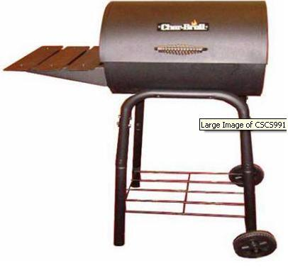 Char-Broil 10301576 All Refrigerator Charcoal Grill