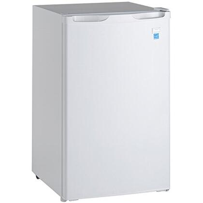 "Avanti RM4406W 20"" Compact Refrigerator with 4.4 cu. ft. Capacity in White"