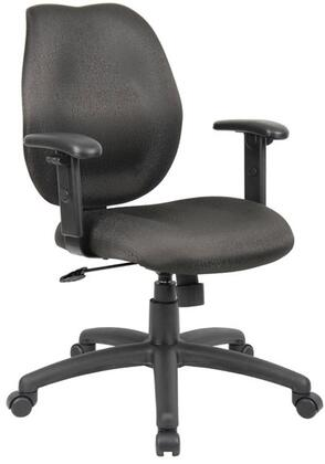 "Boss B1014BK 26"" Adjustable Contemporary Office Chair"