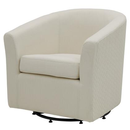 New Pacific Direct Template: Hayden Collection 193012-2427 Fabric Swivel Chair, Bright Sand /Icy Leafage Beige
