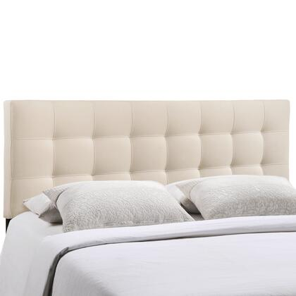 Modway MOD-5X4X-IVO Lily Fabric Headboard in Ivory Color