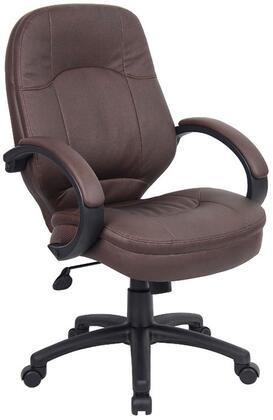 "Boss B726BB 27"" Adjustable Contemporary Office Chair"