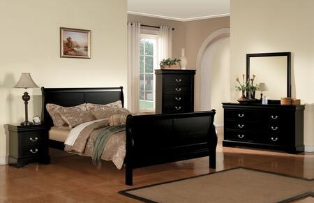 Acme Furniture 19500Q5PC Louis Philippe III Bedroom Sets