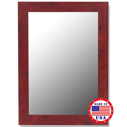 Hitchcock Butterfield 25070X Cameo Mirror in Barn Red