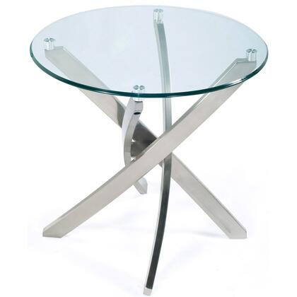 Magnussen T205005 Zila Series Modern Round End Table
