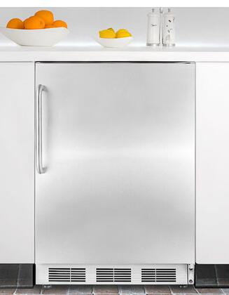 Summit SCFF55IMSSTB  Counter Depth Freezer with 5 cu. ft. Capacity