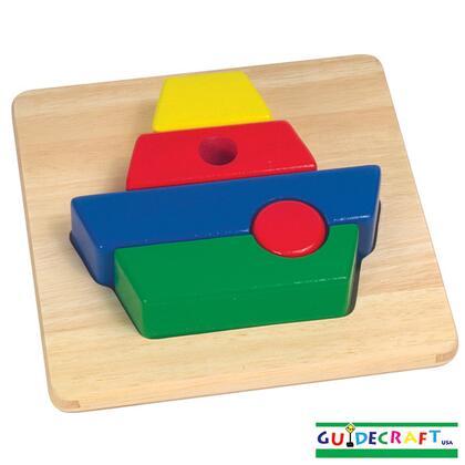 Guidecraft G20XX Primary Puzzle - X