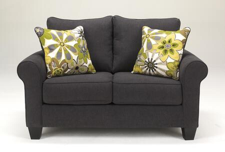 Loveseat in Charcoal
