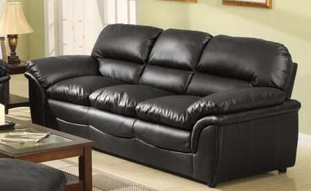 Meridian 604BLS Soho Series Stationary Leather Sofa