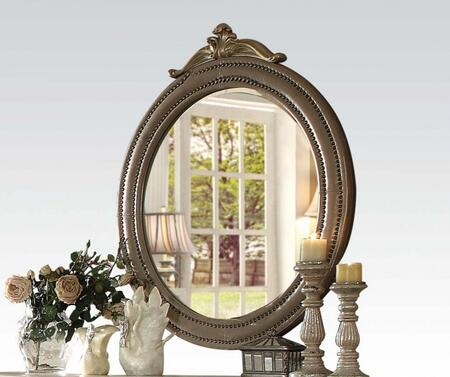 Acme Furniture 21244 Varada Series Oval Both Dresser Mirror
