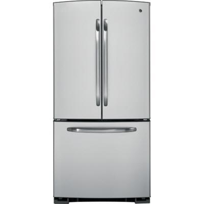 GE GFSL2KEYLS  French Door Refrigerator with 22.2 cu. ft. Capacity in Stainless Steel