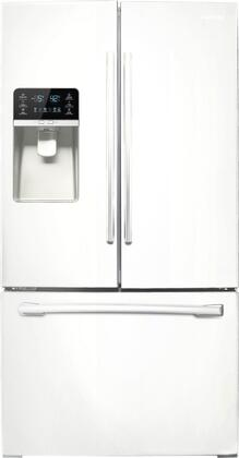 "Samsung Appliance RF323TEDBWW 36""  French Door Refrigerator with 30.5 cu. ft. Total Capacity 5 Glass Shelves"