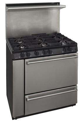 Premier P36s138bp 36 Inch Pro Series Gas Freestanding