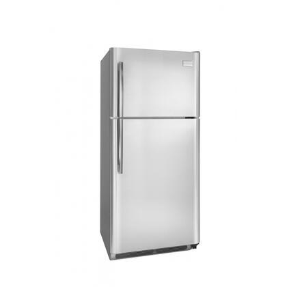 Frigidaire FPUI1888LF Professional Series Freestanding Top Freezer Refrigerator with 18.28 cu. ft. Total Capacity 4 Glass Shelves 4.07 cu. ft. Freezer Capacity
