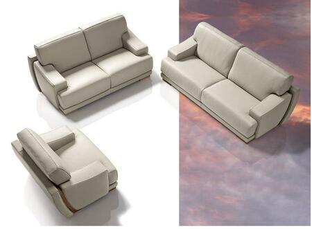 VIG Furniture VGDIMPRESIDENT Modern Leather Living Room Set