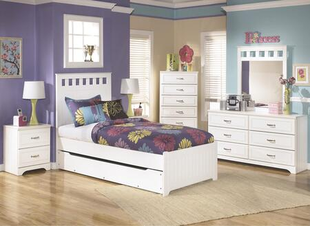Signature Design by Ashley B102TPTDMNC Lulu Twin Bedroom Set