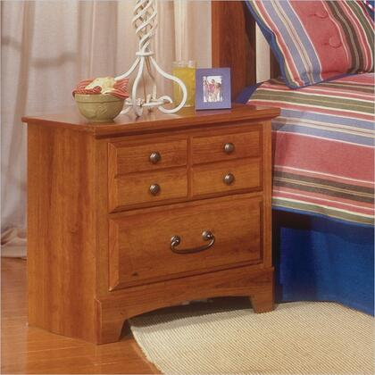 Standard Furniture 5707 City Park Series Rectangular Wood Night Stand