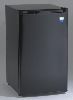 "Avanti RM44 20"" Counterhigh Energy Star Compact Refrigerator with 4.4 cu. ft. Capacity, Adjustable Glass Shelves, Full-Width Freezer Compartment, Interior Light and Reversible Door in"