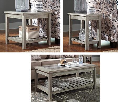 Milo Italia TA591CTETCET Ronnie Living Room Table Sets