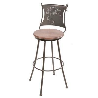 Stone County Ironworks 904001FABCTH  Bar Stool