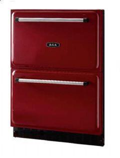 AGA ARD24CLT  Compact Refrigerator with 5.6 cu. ft. Capacity in Red