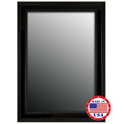 Hitchcock Butterfield 80680X 2nd Look Ceylon Black Framed Wall Mirror