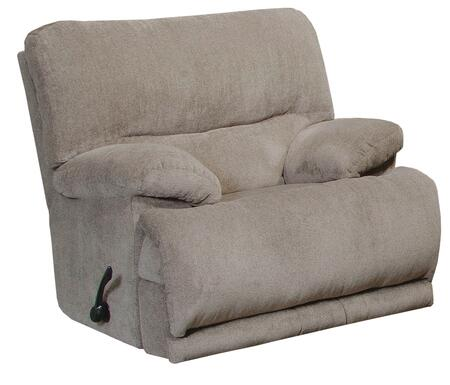 "Catnapper Jules Collection 2200-2- 42"" Chaise Rocker Recliner with Chenille Fabric Upholstery, Pillow Top Arms and Steel Seat Box in"