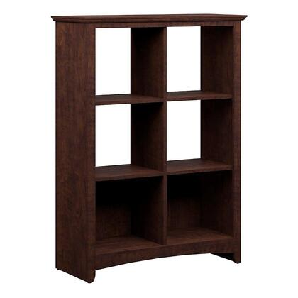Bush Furniture MY138X503 Buena Vista Storage in Madison Cherry Finish