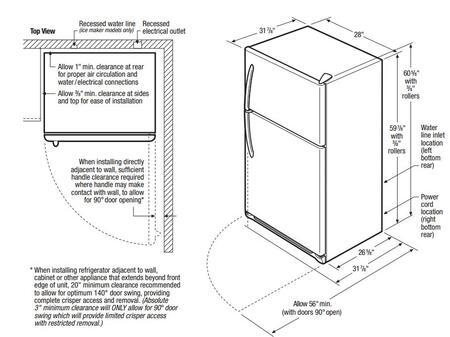 Frigidaire Ffht1514qz 28 Inch Top Freezer Refrigerator In