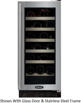 "Marvel 30WCMBBOLL 14.875"" Built-In Wine Cooler, in Panel Ready"