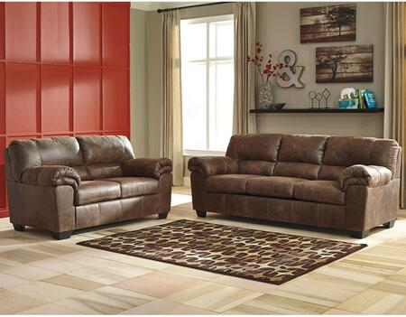 Flash Furniture Signature Design by Ashley Bladen 2 PC Living Room Set with Sofa + Loveseat  in