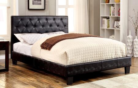 Furniture of America CM7795BKEKBED Kodell Series  King Size Panel Bed