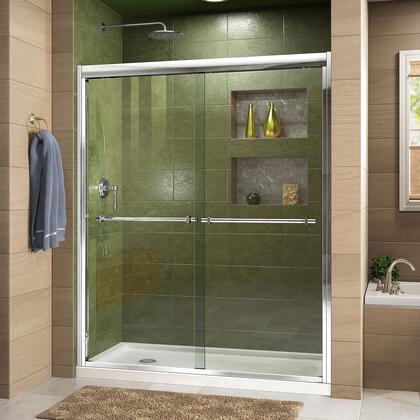 Duet Shower Door RS43 C Base LeftDrain