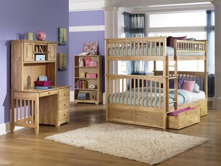 Atlantic Furniture YBBCOLUMBIAFULLFULLNM Columbia Series  Full Size Bed