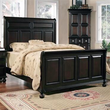 Yuan Tai MA6351K Marlon Series  King Size Panel Bed