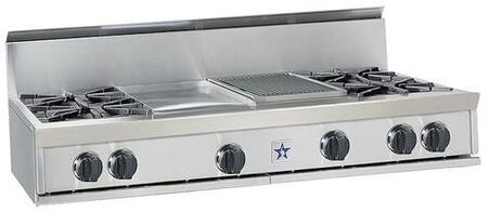 BlueStar RGTNB484GSS  Gas Open Burner Style Cooktop