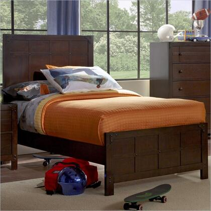 Powell 215046M1  Full Size Panel Bed