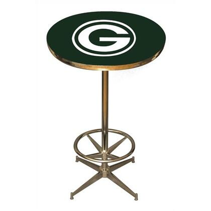 Imperial International 26-40 Pub Table With Disco Style Steel Base, Leg Levelers & Foot Ring