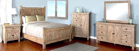 Sunny Designs 2307WKBDMN Durango King Bedroom Sets
