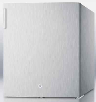 Summit FS22L7CSS  Freezer with 1.42 cu. ft. Capacity in Stainless Steel