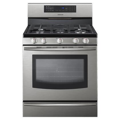 """Samsung Appliance FX710BGS 30"""" Gas Freestanding Range"""