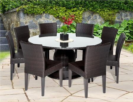Tk classics napa60kit8 patio sets appliances connection for Outdoor furniture 0 finance
