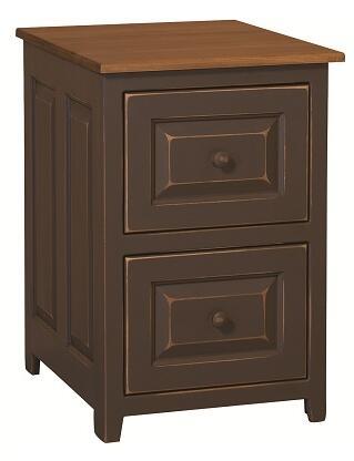 Chelsea Home Furniture 4650240FBS Genesis Series Freestanding Wood 2 Drawers Cabinet